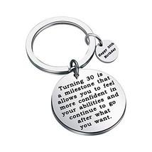 FSTYLE Happy Birthday Keychain Gift 13th 16th 18th 30th 40th Charms Key ... - $13.91