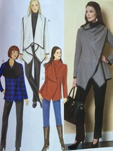 Butterick Sewing Pattern 6255 Ladies Misses Coat Size XS-M 4-14 New - $19.43