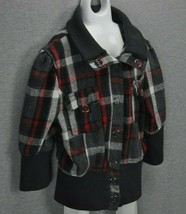 Beverly Hills Polo Club Jacket Boys Small Plaid Snap Front - $30.00