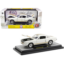 1966 Ford Mustang Shelby GT350H Wimbledon White with Gold Stripes Limite... - $39.09