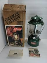 Vintage Coleman Model 220K195 2 Mantle Lantern Dated 11/81 - $89.00