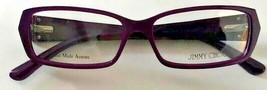 Jimmy Choo New Authentic Eyeglasses Frame - JC74 AYA Opale Violet - 52 14 135 - $92.57