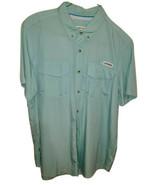 Magellan Outdoors Men's XL Fish Gear Moisture Wick Long Sleeve Shirt Tea... - $17.75