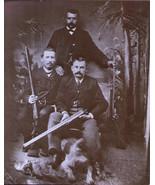 Vintage Photo Art Print Three Men With Guns, Shotguns, Rilfes - $3.95