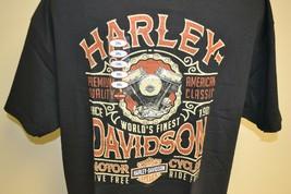 Harley Davidson Timpanogos Lindon Utah T shirt 2XL Live Ride Free Motorc... - $49.49