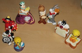 Looney Tunes Salt & Pepper Shakers - Sylvester Tweety Bugs Bunny Elmer F... - $72.57