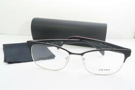 Prada Women's Black Glasses with case VPR 65R 1BO-1O1 53mm - $76.95