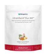 Metagenics UltraInflamX Plus 360 Original Spice Flavor (21 oz) Medical F... - $94.05