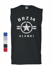 DD214 Alumni Muscle Shirt Military Service Veteran American Patriot Slee... - $11.19+