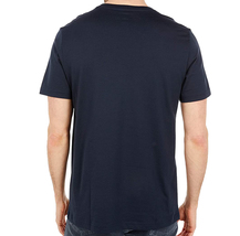 Men's Psycho Bunny Shirt Seymour Graphic Tee Shattered Neon Logo Navy T-shirt image 6