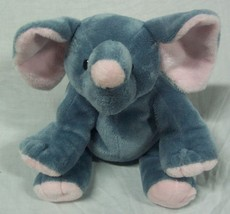 "TY Pluffies EXTRA SOFT GREY ELEPHANT 7"" Plush Stuffed Animal 2009 - $18.32"