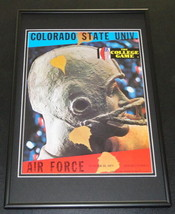 1971 Air Force vs Colorado State Football Framed 10x14 Poster Official R... - $46.39