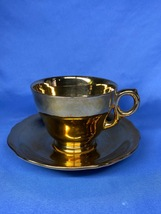 Vintage Royal Winton English Bone China Gold Tea Cup and Saucer Set - $14.99