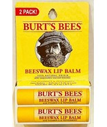 Burt's Bees Beeswax Lip Balm with Vitamin E & Peppermint Set of 2 Tubes - $9.85