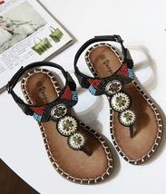 Brown Women Crystals Summer Sandals,Beach sandals,Gladiator & Strappy Sandals image 3