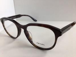 New PRADA VPR 18FS 2AU-1O1 53mm Tortoise Eyeglasses Frame      No case - $189.99