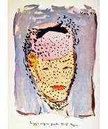 """11x14""""Decor Canvas.Interior design Art Nouveau.Deco fashion woman.6289 - $28.05"""