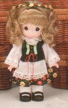"Children of the World Precious Moments Doll 9""Sophie From Poland Little ... - $29.65"