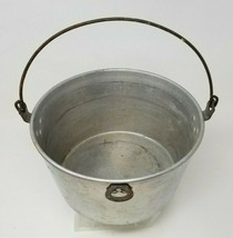 Vintage Wear-Ever Aluminum Caldron Stock Pot With Bail Handle No. 130 USA - $19.79