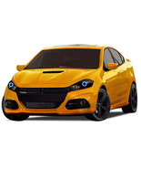 for Dodge Dart 14-16 White LED Halo kit for Headlights - $76.63