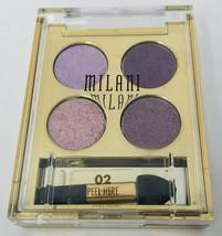 MILANI Fierce Foil Eyeshine Eye Shadow Palette #02 Rome - $7.21