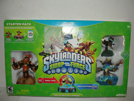 Skylanders Swap Force Starter Pack Nintendo Wii U 2013 Damaged Box - $10.99