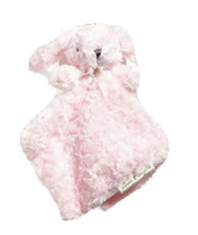 Blankets & Beyond Pink Bunny Rabbit Lovey Baby Security Blanket Plush Nu... - $17.81