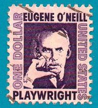 Scott  #1294a Used $1.00 US Postage Stamp (1965) Eugene O'Neill - $1.99