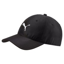 New 2018 PUMA Golf Pounce Adjustable Tech Cap / Puma Black / Free Puma Hat Clip - $22.77
