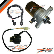 Giovanni Jackel Wildfire 49 50 49cc 50cc Starter Motor and Relay Solenoi... - $37.61