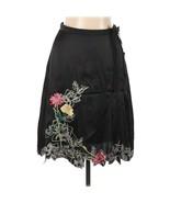 Womens Size 8 Nordstrom Vertigo Paris 100% Pure Silk Floral Embroidered ... - $29.39