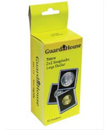 10 Guardhouse 2x2 Tetra Snaplock Coin Holders for Large Dollar 38.1mm - $9.49