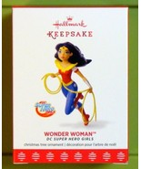2017 Hallmark DC Super Hero Girls Wonder Woman Christmas Ornament
