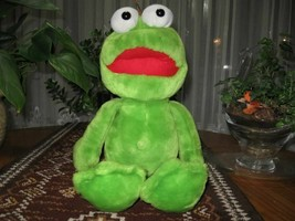 Dutch Large Green FROG Stuffed Animal Plush - $84.97