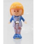 1990 Polly Pocket Doll Vintage Pencil Case Playset (variation) - Midge - $7.00
