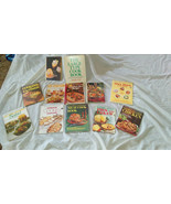 Mixed Lot of 12 Vintage Cookbooks- Late 1960's- 1980's - $27.50