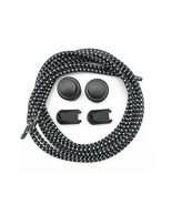 Shoelaces Unisex Elastic Shoe Laces For Men Women All Sneakers Fit Strap... - $5.20