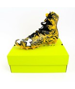 New In Box Under Armour Highlight Lux MC 10 Black Yellow Football Cleats... - $32.74
