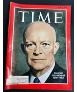 TIME MAGAZINE April 4 1969 Dwight Eisenhower 1890-1969 - $12.56
