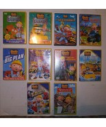Lot of 10 Bob The Builder DVDs Rare OOP Kids Childrens Show + Movie + Live - $29.69