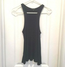 WILLIAM B Blue Ribbed Tank Top S - $24.00