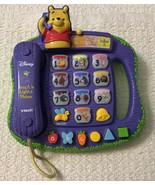Disney Winnie the Pooh TEACH 'N LIGHTS PHONE - VTech, 4 Modes of Play - $23.76