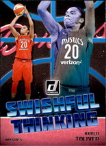 Kristi Toliver 2019 Donruss WNBA Swishful Thinking Card #7 - $1.50