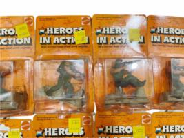 Lot (12) NOS Vintage 1974 Mattel Heroes in Action Card Figure Sealed Package image 4
