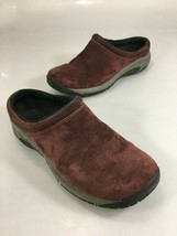 Merrell Womens 8.5 Bourbon Burgundy Suede Mocs Clogs Shoes Slip-On - $47.53
