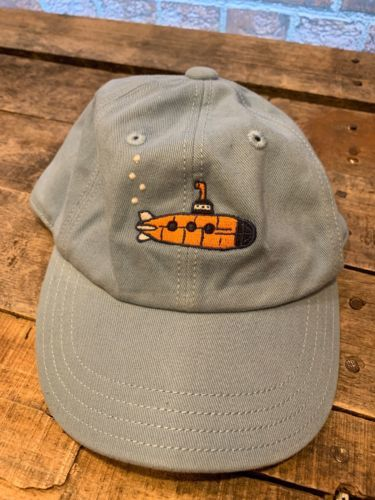 Gymboree SUBMARINE Adjustable Toddlers Baseball Cap Hat Size 0-12 mos