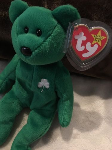 408f5859c95 ERIN Bear Rare Retired TY Beanie Baby with and 39 similar items. 12