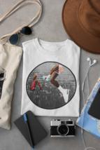MJ Split Dunk Bootleg Shirt | MJ Graphic Design Shirt | Basketball Legends Tee image 1