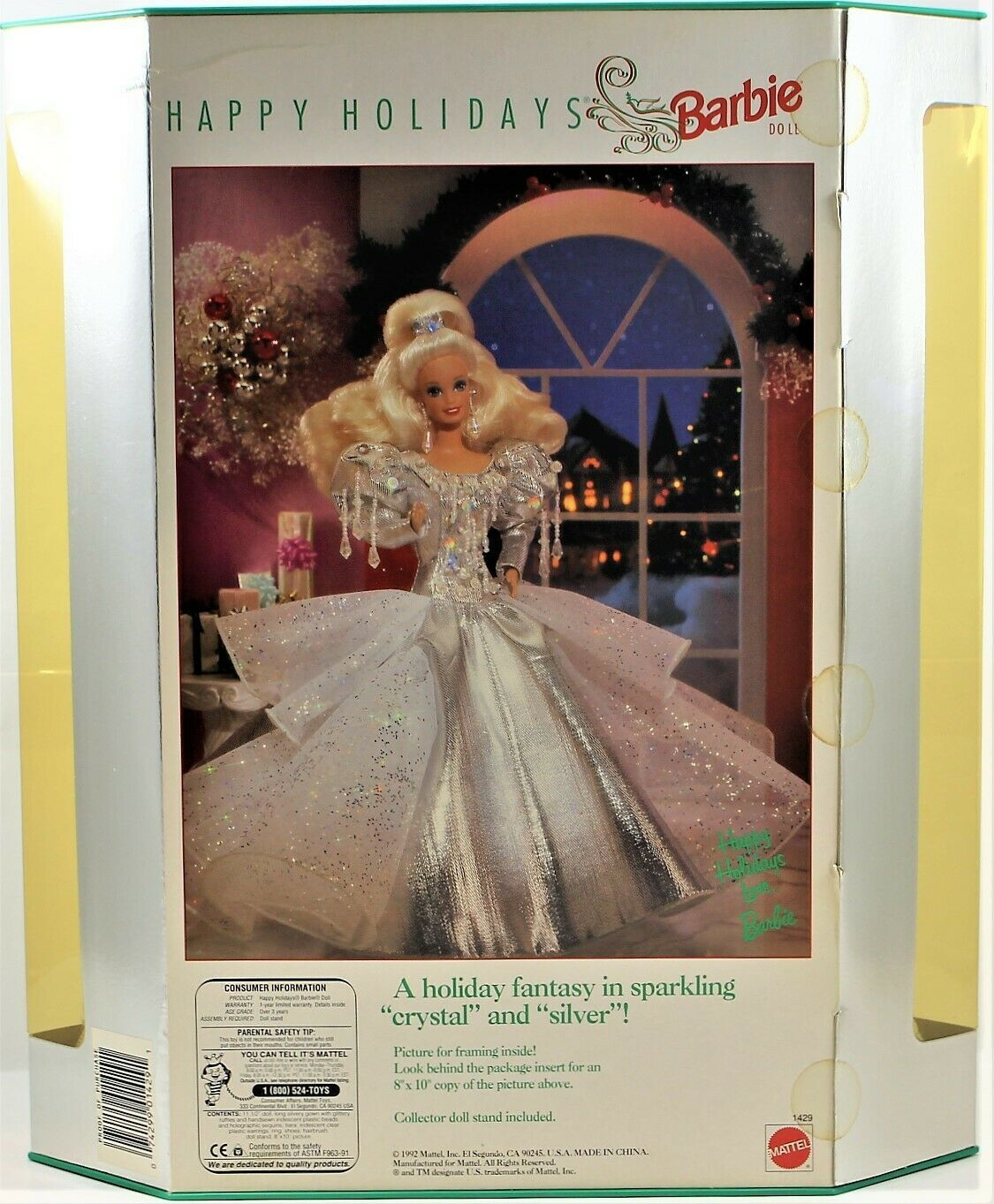 Happy Holidays Special Edition Barbie Doll Mattel Nrfb Collector Blonde 1992