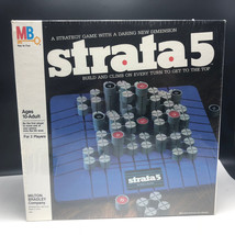 1984 STRATA 5 BOARDGAME MB Milton Bradley board game nib sealed build cl... - $37.62